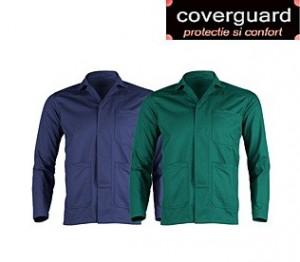 Jacheta lucru groasa si confortabila, model clasic din bumbac 100%