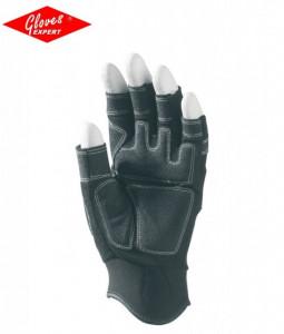 Manusi de soferi protectie cu intaritura fara capete de degete