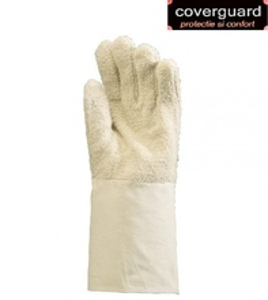 Manusi protectie bumbac 100%, lungime 36 cm