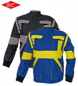 MAX jachetă de lucru bumbac 2 în 1 diverse culori