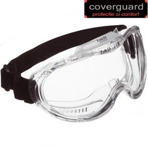 Ochelari de protectie cu banda elastica, lentila antiaburire KEMILUX