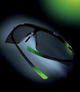 Ochelari Uvex Super G, rama gri-verde