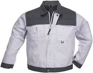 Jacheta de lucru Class White