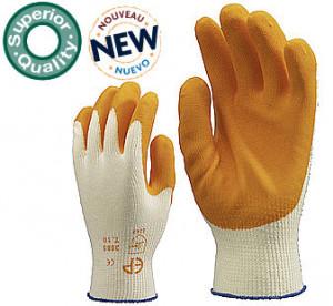 Manusi de protectie Latex portocaliu 3865