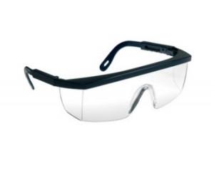 Ochelari de protectie ECOLUX cu lentile policarbonat cu rama neagră