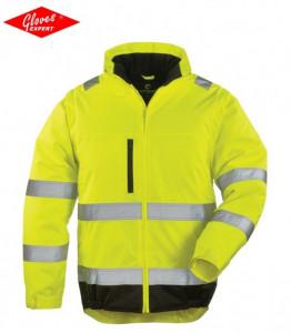 Jachetă de vizibilitate mare reflectorizante 2 ÎN 1