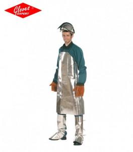 Sort de protectie aluminizată rezistentă la căldură şi flacără