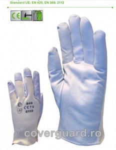 Manusi de protectie piele capra combinat 850