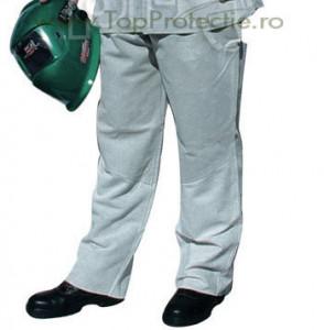 Pantaloni protectie sudori piele