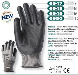 Manusi Antitaiere Spandex Nitril Nivel 5 Top-Taeki-5 6950