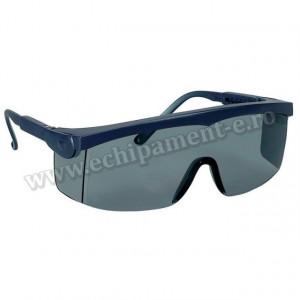 Ochelari de protectie cu lentile policarbonat intarit, albastru PIVOLUX2