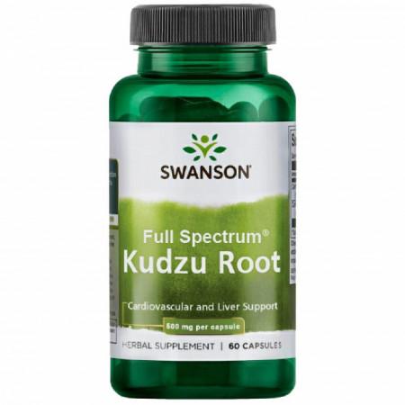 Kudzu Root- Radacina 500 mg 60 capsule Swanson