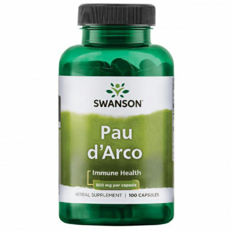 Pau d'Arco 500 mg 100 capsule Swanson