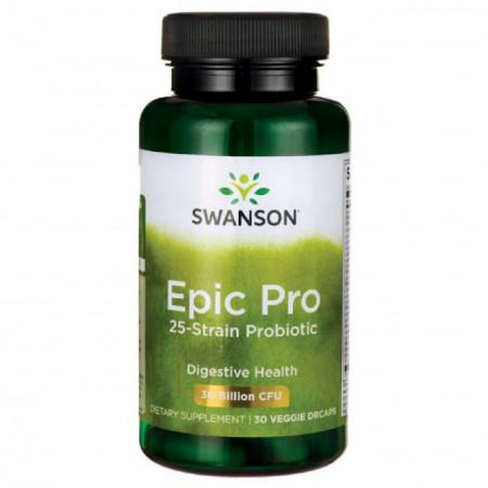 Epic Pro 25 tulpini Probiotice si Prebiotice FOS 30 de Miliarde pentru Imunitatea Tractului Digestiv