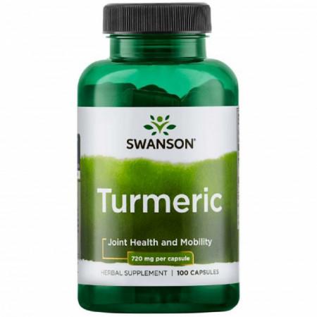 Full Spectrum Turmeric- Turmeric 720 mg 100 capsule Swanson