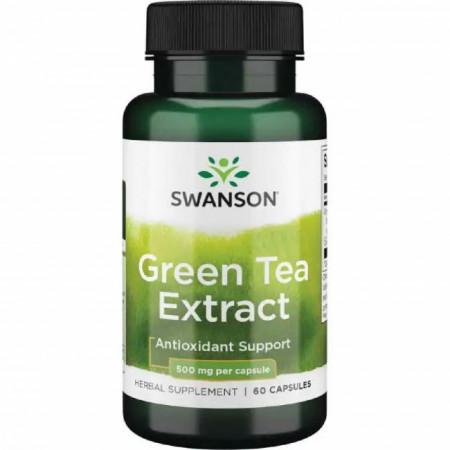 Green Tea Extract - Ceai Verde 500 mg 60 capsule Swanson