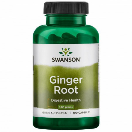 Ginger Root ~ Radacina de Ghimbir 1080 mg 100 capsule Swanson