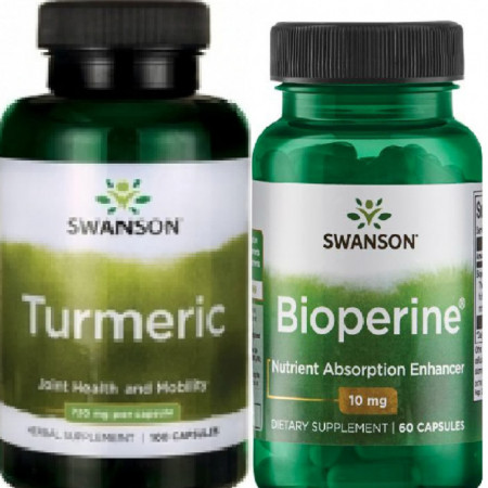 Pachet Naturist Antireumatic Antitumoral Turmeric si Bioperina