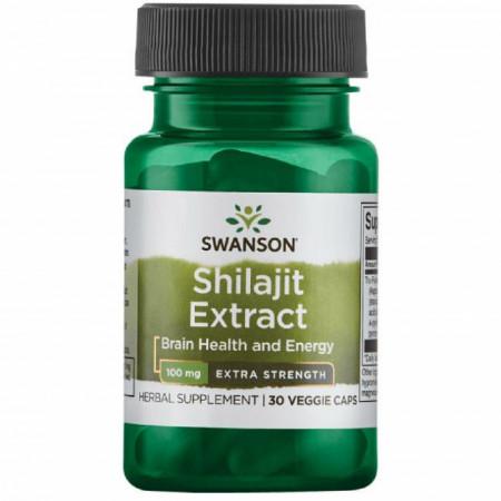Shilajit Extract- TruFulvic® 100 mg 30 veggie capsules Swanson