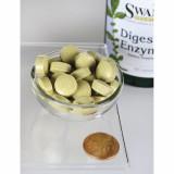 Complex Avansat de Enzime Digestive 180 tablete Swanson Enzime Pancreatice 3-6 Luni
