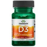 High Potency Vitamin D3- Vitamina D-3 1000 IU 30 capsule Swanson