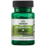 Huperzine A - Huperzina 200 mcg Imbunatateste Memoria si Sustine Functiile Creierului 30 capsule Swanson