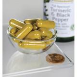 Turmeric & Black Pepper - Turmeric cu Piper negru 60 capsule Swanson Proprietati Beneficii Pret