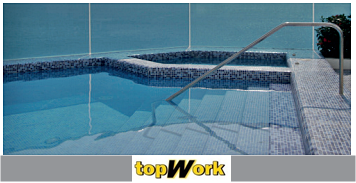 hidroizolatie piscina cu mortar special subtire sika top. Black Bedroom Furniture Sets. Home Design Ideas