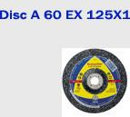 Disc de taiere metal A 60 extra 125x1 Klingspor
