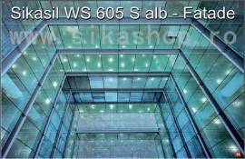 Silicon etansare fatade SikaHyflex 600 (Sikasil WS 605 S) incolor