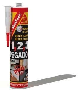 Adeziv Sika MaxTack pentru fixari rapide Lemn, PVC, Metal