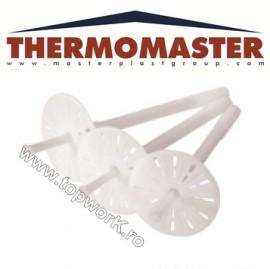 Diblu cu rozetă din polipropilenă, întărită cu fibră THERMOMASTER D-PLUS 200mm 250 buc