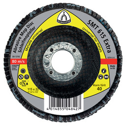 Disc lamelar frontal SMT 618 EXTRA KLINGSPOR 125X22.23