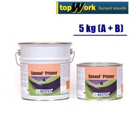 Amorsa epoxidica pentru beton, sapa, tabla, lemn Epoxol Primer 5 kg
