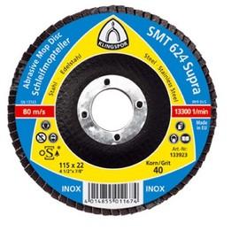Disc lamelar frontal SMT624 SUPRA GR 36 - 120 KLINGSPOR 180X22.23