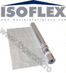 Folie PE ISOFLEX ALU PZ metalica