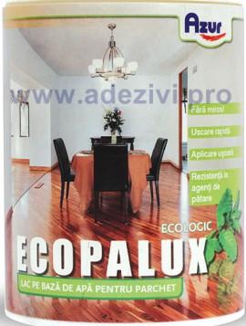 lac parchet eco palux pe baza de apa azur 4 kg. Black Bedroom Furniture Sets. Home Design Ideas