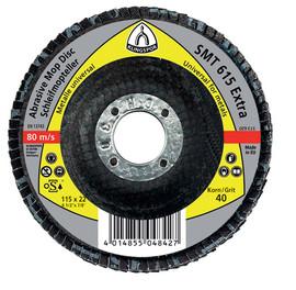 Disc lamelar frontal SMT 619 EXTRA GR 40 - 80 KLINGSPOR 115X22.23