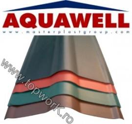 Element de coama AQUAWELL LINE - verde