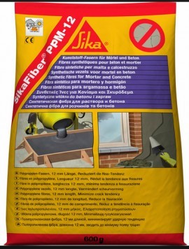 Fibre polipropilena armare beton si sapa SikaFiber PPM‐12 0.600 kg