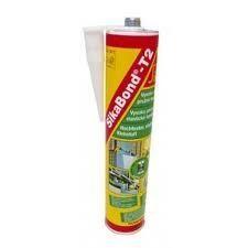 Adeziv flexibil puternic si rezistent SikaBond T2 alb 300 ml