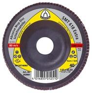 Disc lamelar frontal SMT 619 EXTRA GR 40 - 80 KLINGSPOR 125X22.23