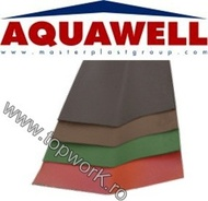 Element de dolie AQUAWELL LINE - maro