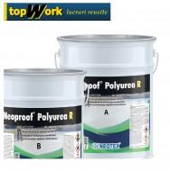 Hidroizolatie bicomponenta Neoproof poliurea rezistenta la apa dupa 3 ore