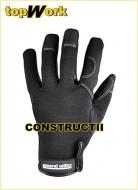 Manusi de protectie negre constructii General Utility