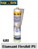 Adeziv si etansant flexibil poliuretanic NEOTEX PU JOINT GRI 300ml