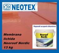 Hidroizolatie acoperis bloc peste membrana bituminoasa Neoroof Nordic UV