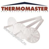 Diblu cu rozetă din polipropilenă, întărită cu fibră THERMOMASTER D-PLUS 220mm 250 buc