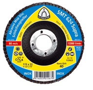 Disc lamelar frontal SMT624 SUPRA GR 40 - 80 KLINGSPOR 150X22.23