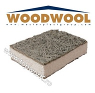 împâslitură de lemn WOODWOOL EPS-100 de 100mm